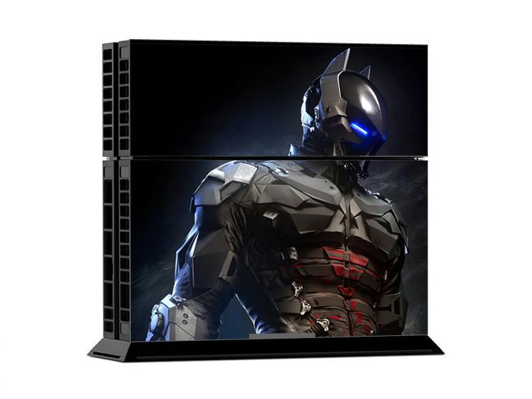 Ps4 batman arkham knight console skin sticker