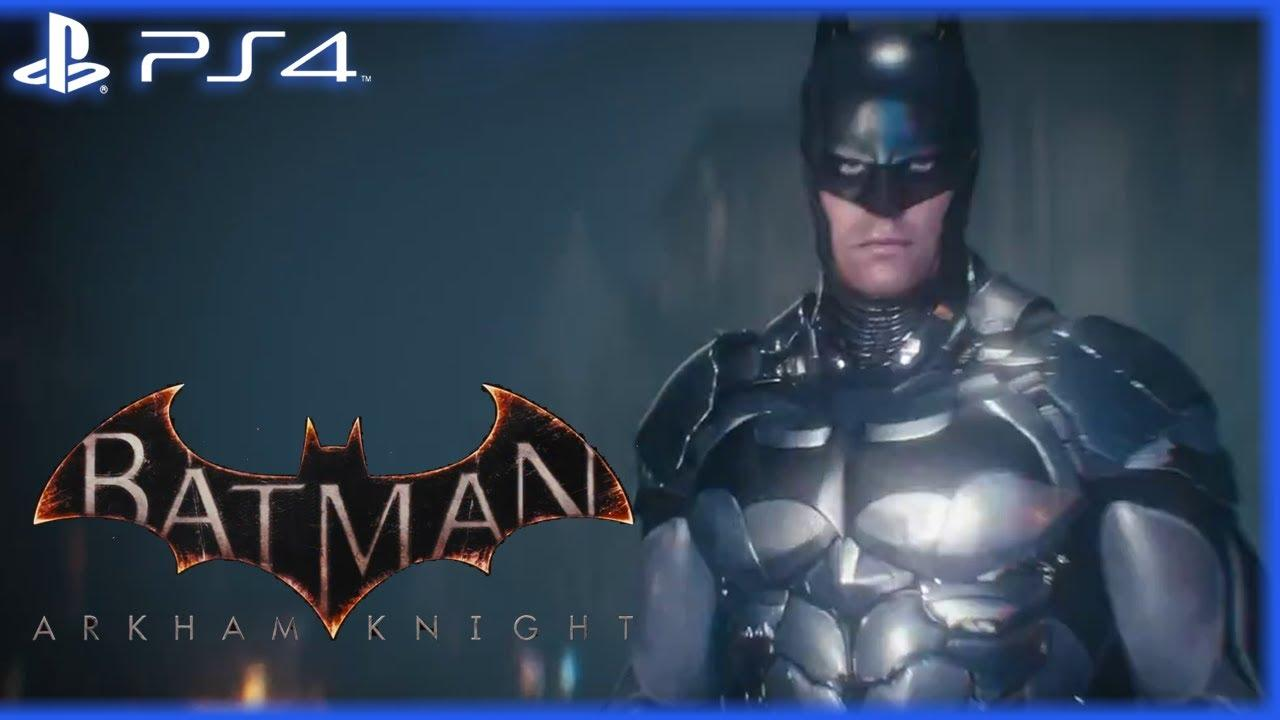 PS4 Batman Arkham Knight Disc
