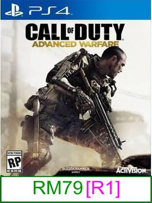 PS4 Call Of Duty Advanced Warfare [R1] ★Brand New & Sealed★..