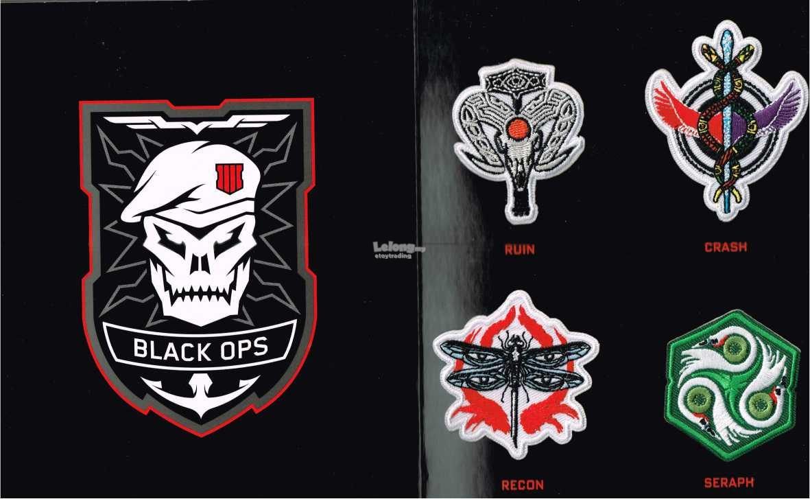 PS4 CALL OF DUTY BLACK OPS 4 BADGES RM70 WHATSAPP+60102209266 !!
