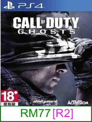 PS4 Call of Duty Ghosts [R2] ★Brand New & Sealed★