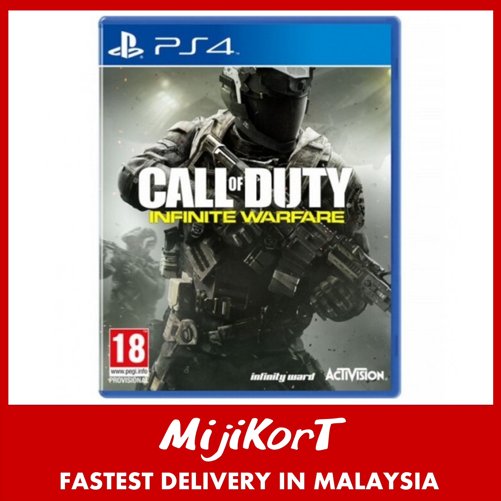 Ps4 Call Of Duty Infinite Warfare R2 End 8 27 2020 545 Pm Game Used