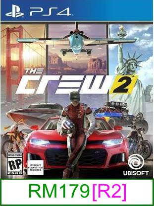 PS4 The Crew 2 [R2] ★Brand New & Sealed★