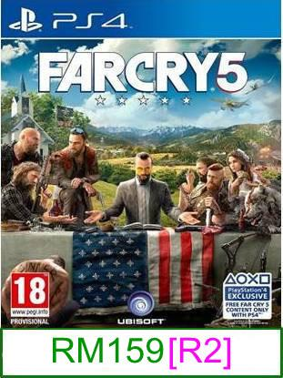 PS4 Far Cry 5 [R2] ★Brand New & Sealed★