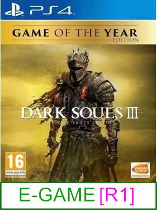 PS4 Dark Souls III The Fade's Edition (GOTY) [R1] ★Brand New & S..
