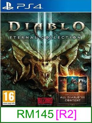 PS4 Diablo III Eternal Collection [R2] ★Brand New & Sealed&#9733..