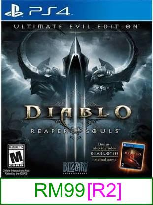 PS4 Diablo III Ultimate Evil Edition [R2] ★Brand New & Sealed