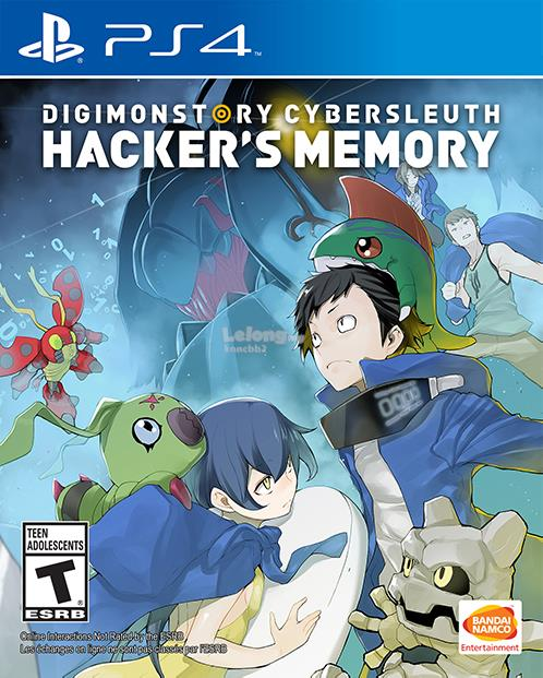PS4 Digimon Cyber Sleuth Hacker's Memory Eng R3 (Available now)