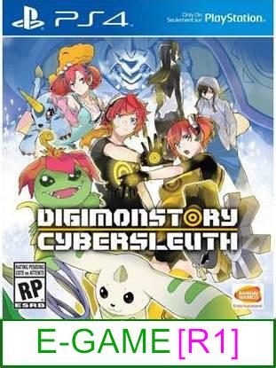 PS4 Digimon Story Cyber Sleuth [R1] ★Brand New & Sealed★