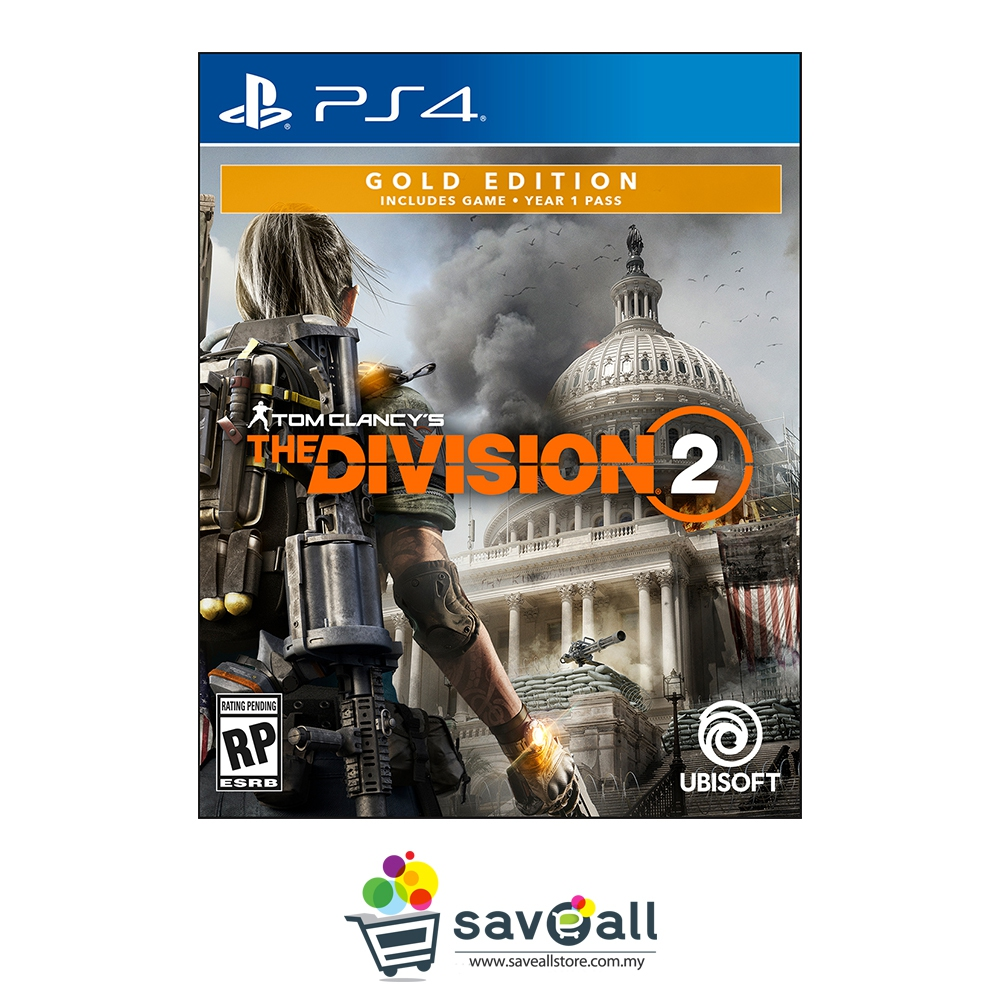 PS4 The Division 2 Gold Edition (R3/ENG)