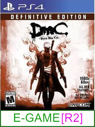 PS4 DMC Devil May Cry Definitive Edition [R2] ★Brand New & Seale..