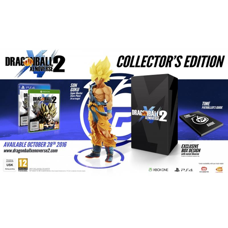 PS4 Dragon Ball Xenoverse 2 Collector's Edition R3 Eng