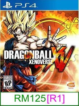 PS4 Dragon Ball Xenoverse [R1] ★Brand New & Sealed★