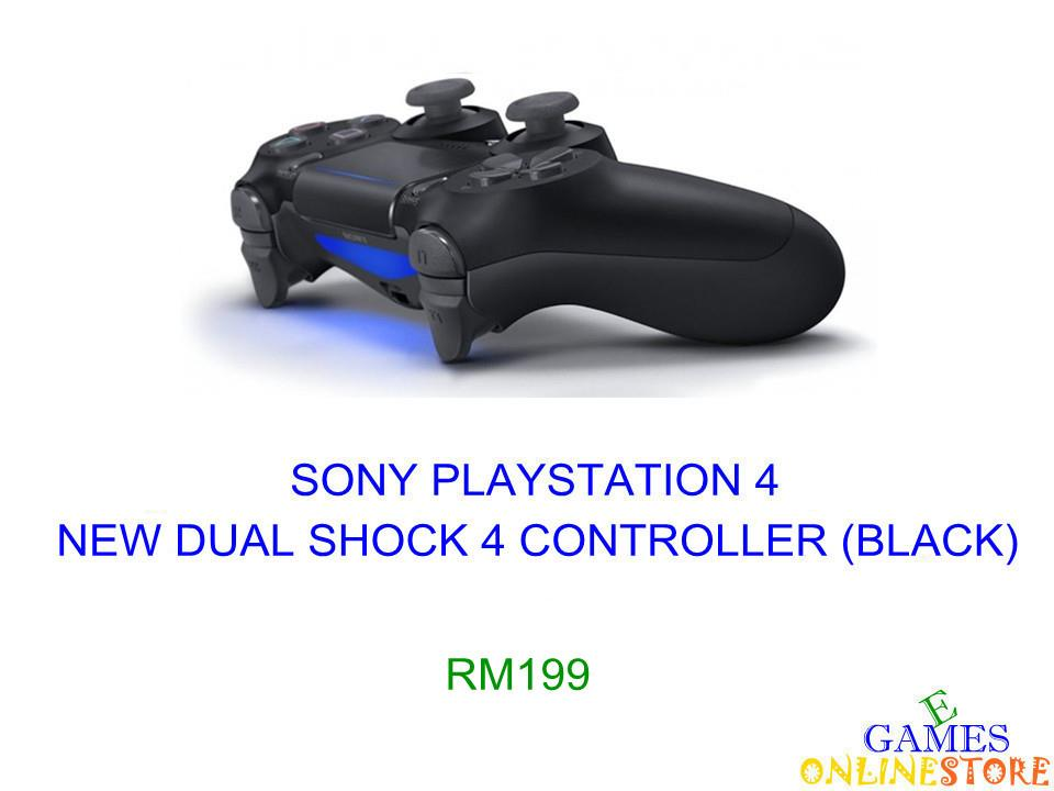 PS4 New Dual Shock 4 Controller (Black) ★Brand New & Sealed..