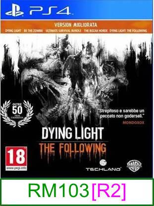 PS4 Dying Light The Following: Enhanced Edition [R2] ★Brand New ..