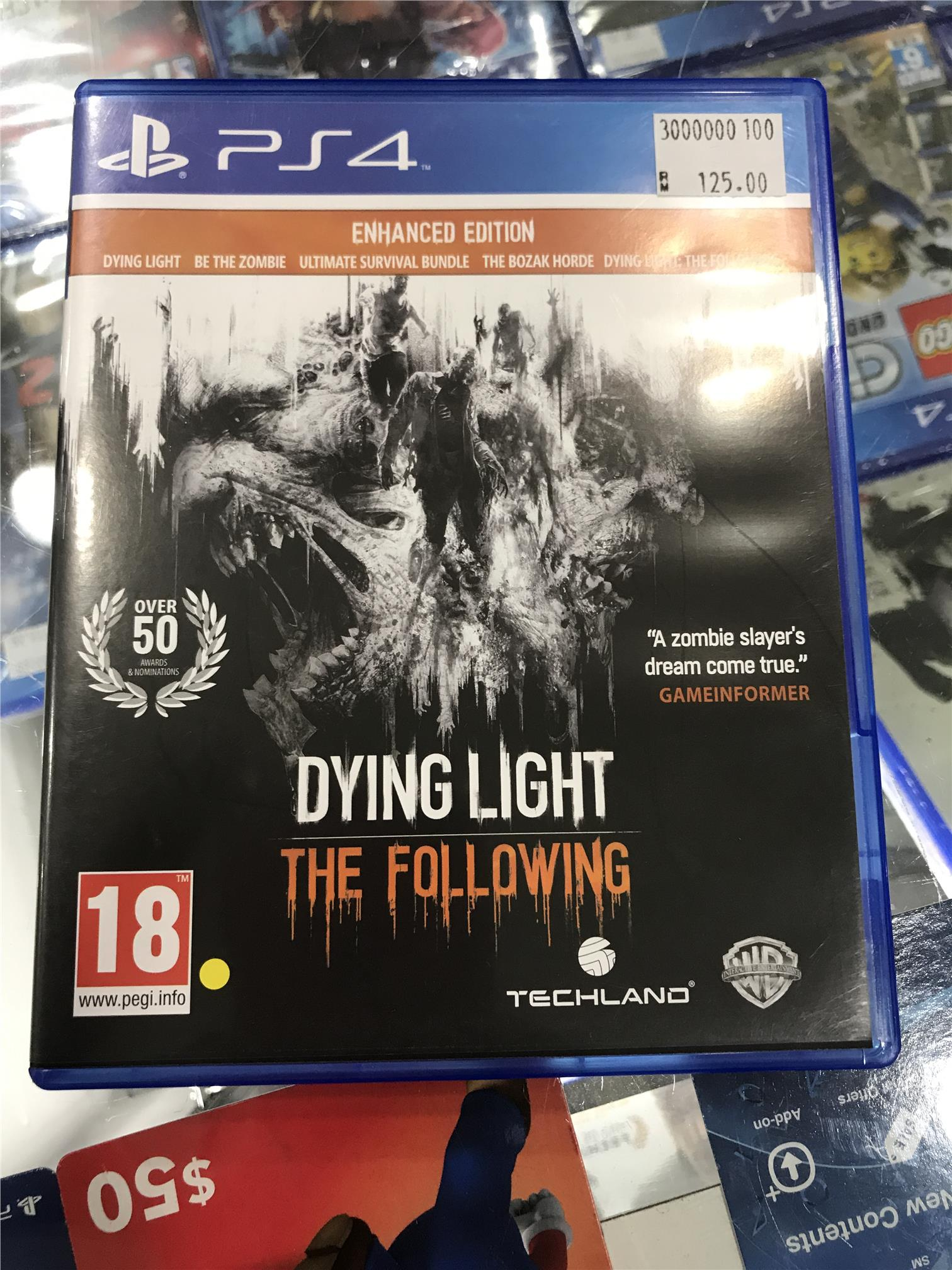 PS4 Dying Light The Following (PRE-OWNED)