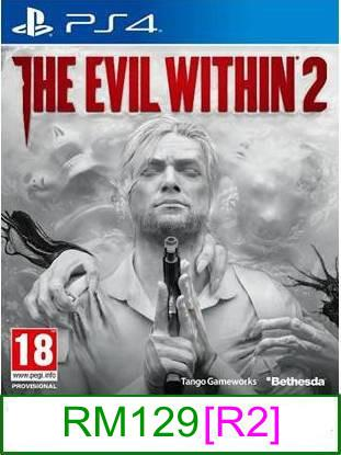 PS4 The Evil Within 2 [R2] ★Brand New & Sealed★