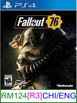 PS4 Fallout 76 [R3] ★Brand New & Sealed★
