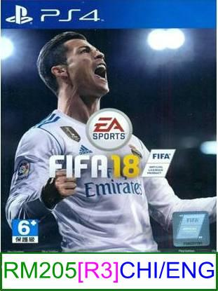 PS4 FIFA 18 (CHI/ENG) ★Brand New & Sealed★