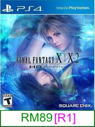 PS4 Final Fantasy X/X-2 HD Remastered [R1] ★Brand New & Sealed&#..