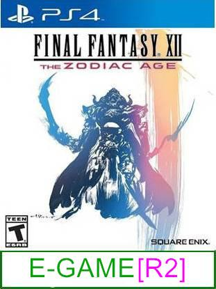 PS4 Final Fantasy XII The Zodiac Age [R2] ★Brand New & Sealed	..