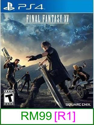 PS4 Final Fantasy XV [R1] ★Brand New & Sealed★