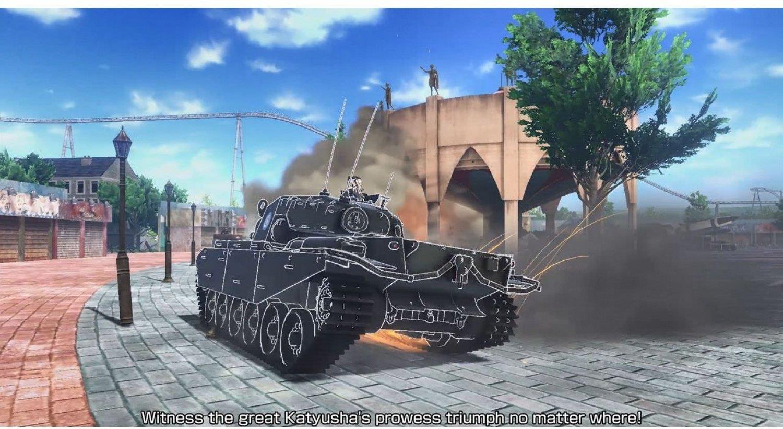 PS4 Girls und Panzer: Dream Tank Match PS4 (ENG)