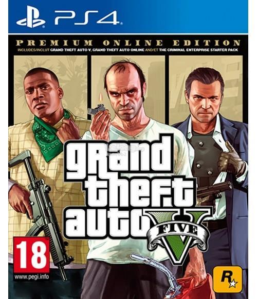 PS4 GTA V : Grand Theft Auto V Premium Edition (Chi/Eng) R3