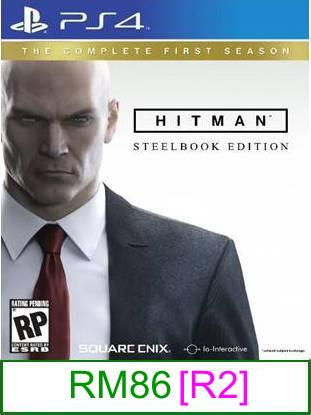 PS4 Hitman The Complete First Season (SB) [R2] ★Brand New & Seal..