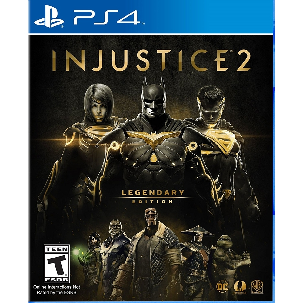 Ps4 Injustice 2 Legendary Edition End 9 14 2020 5 45 Pm