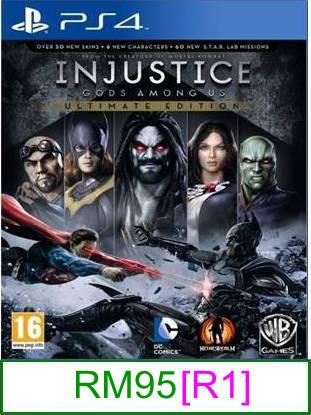 PS4 Injustice Gods Among Us - Ultimate Edition [R1] ★Brand New &..