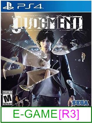 PS4 Judgment [R3] ★Brand New & Sealed★