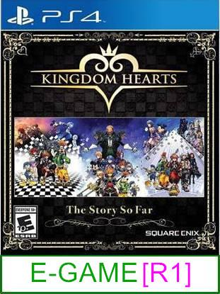 PS4 Kingdom Hearts The Story So Far [R1] ★Brand New & Sealeda