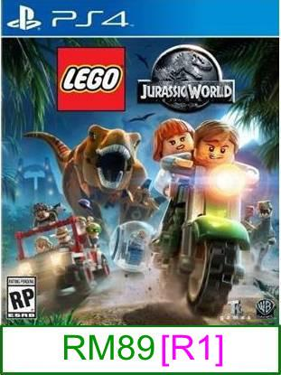 PS4 LEGO Jurassic World [R1] ★Brand New & Sealed★