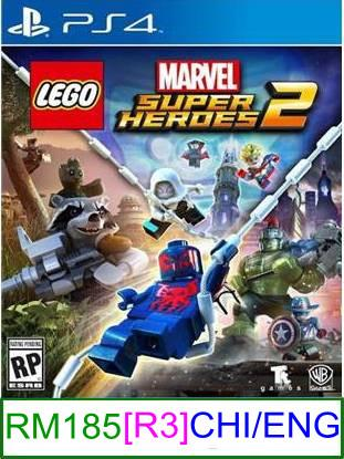 PS4 LEGO Marvel Super Heroes 2 [R3] ★Brand New & Sealed★
