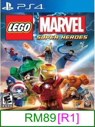 PS4 LEGO Marvel Super Heroes [R3] ★Brand New & Sealed★