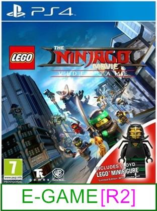 PS4 The LEGO NINJAGO Movie Video Game (Figure Include) [R2] ★Brand New