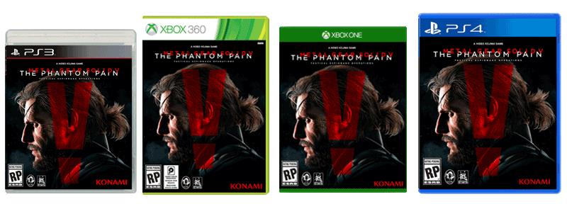 PS4 METAL GEAR SOLID V THE PHANTOM PAIN KONAMI