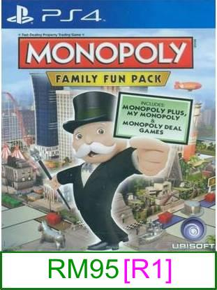 PS4 Monopoly Family Fun Pack [R3] ★Brand New & Sealed★