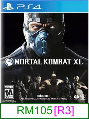 PS4 Mortal Kombat XL [R3] ★Brand New & Sealed★