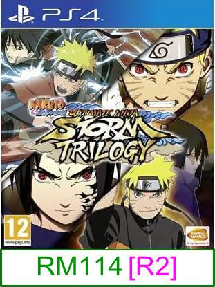 PS4 Naruto Ninja Storm Trilogy [R2] ★Brand New & Sealed★