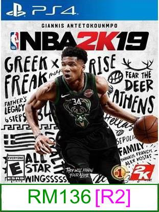 PS4 NBA 2K19 [R2] ★Brand New & Sealed★