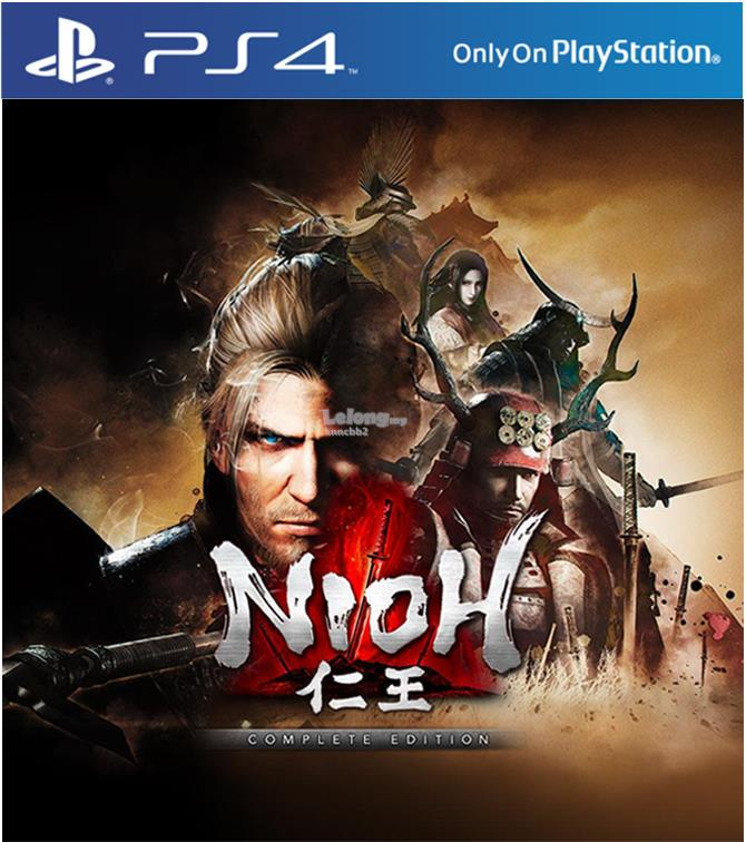 Ps4 Nioh Complete Edition R3 (Chi / Eng)