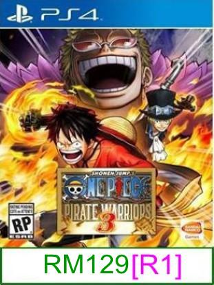 PS4 One Piece Pirate Warriors 3 [R1] ★Brand New & Sealed★