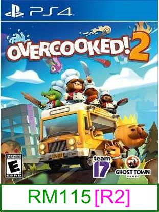 PS4 Overcooked 2 [R2] ★Brand New & Sealed★