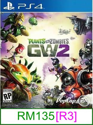 PS4 Plants vs Zombies Garden Warfare 2 [R3] ★Brand New & Sealed&..