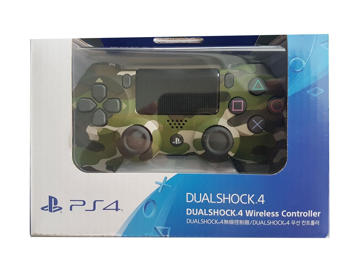 PS4 PLAYSTATION 4 WIRELESS BLUETOOTH CONTROLLER (CAMO)