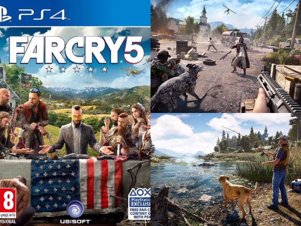 ps4 preorder far cry 5 eta 27 02 201 end 5 18 2020 5 25 pm. Black Bedroom Furniture Sets. Home Design Ideas