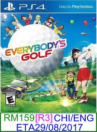 PS4 PREORDER Everybody's Golf (CHI/ENG) [R3] ★Brand New & Sealed..