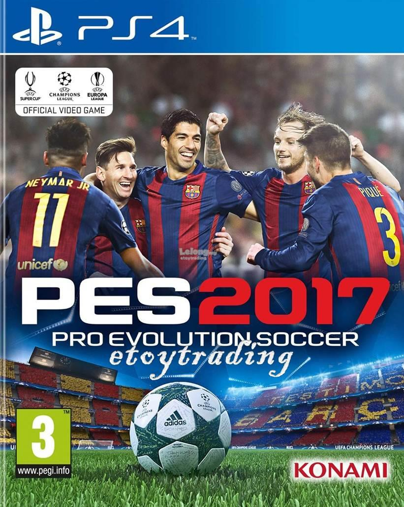 PS4 PRO EVOLUTION SOCCER PES 2017 R2 RM185 WHATSAPP/SMS +60102209266